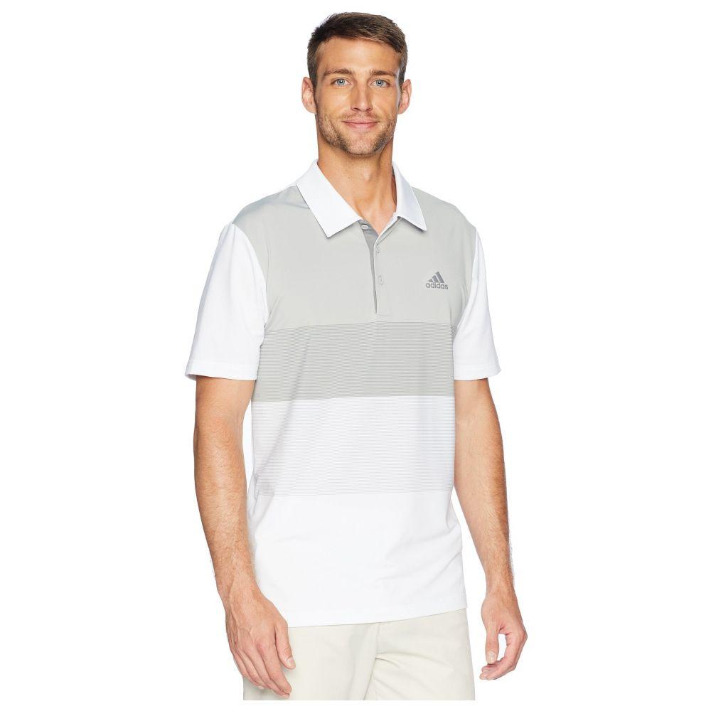 アディダス adidas Golf メンズ ゴルフ トップス【Ultimate Color Block Polo】White