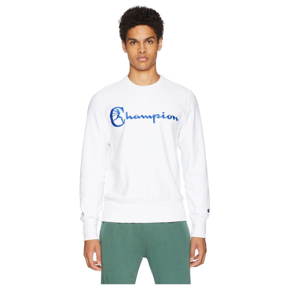 トッド スナイダー Todd Snyder + Champion メンズ トップス【Reverse Weave Graphic T-Shirt】White