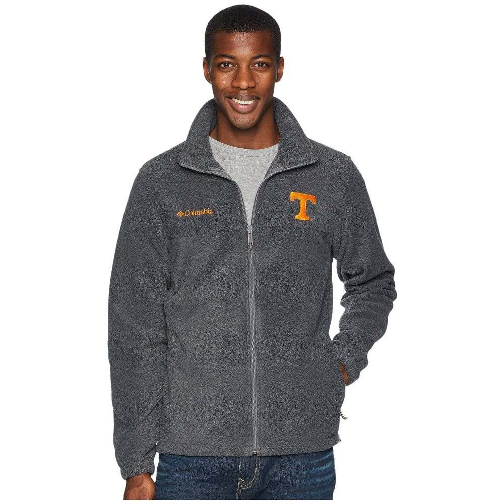 コロンビア Columbia メンズ トップス フリース【Collegiate Flanker(TM) II Full Zip Fleece】Tennessee/Charcoal Heather