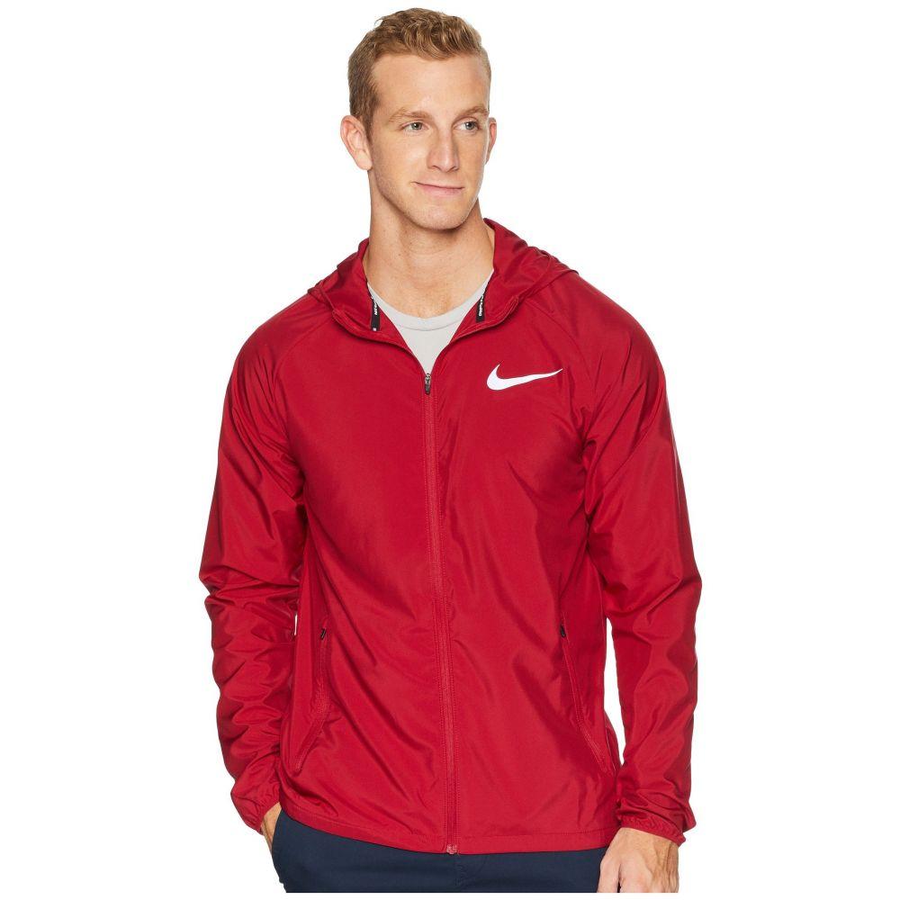 ナイキ Nike メンズ ランニング・ウォーキング アウター【Essential Hooded Running Jacket】Red Crush/Red Crush