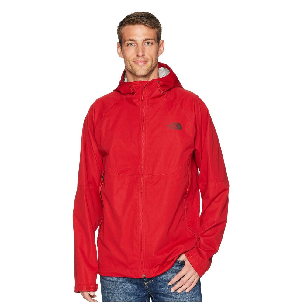 ザ ノースフェイス The North Face メンズ アウター レインコート【Allproof Stretch Jacket】Rage Red