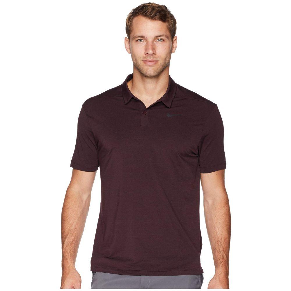 ナイキ Nike Golf メンズ ゴルフ トップス【Dry Polo Heather Textured】Burgundy Crush/Burgundy Ash/Black/Black