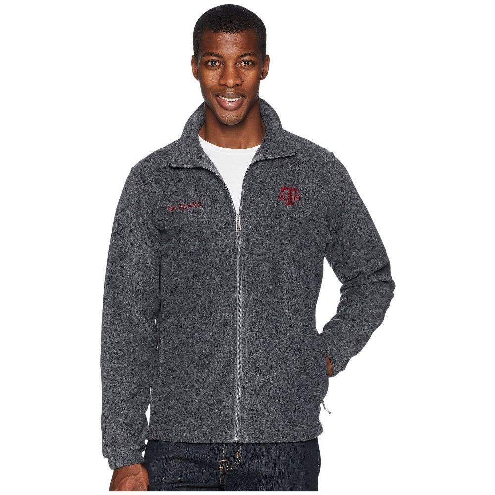 コロンビア Columbia メンズ トップス フリース【Collegiate Flanker(TM) II Full Zip Fleece】Texas A&M/Charcoal Heather
