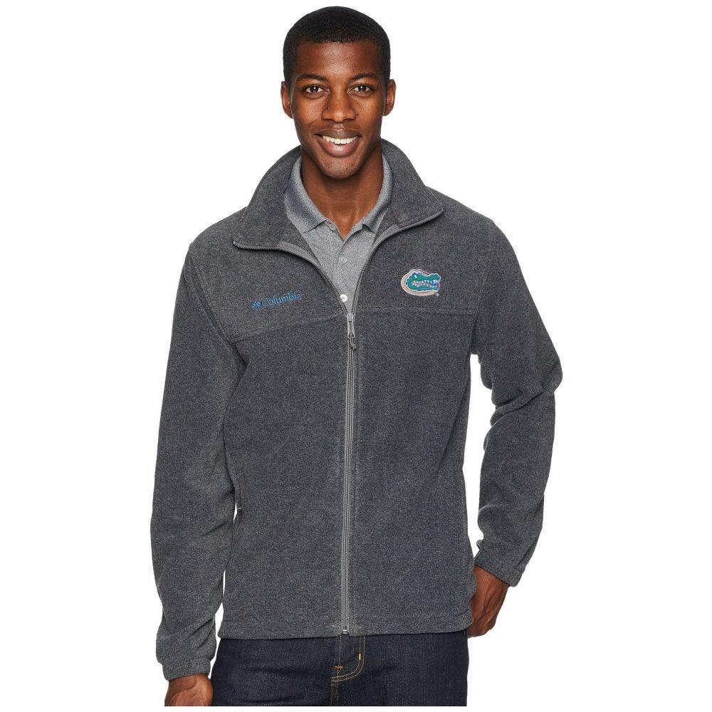 コロンビア Columbia メンズ トップス フリース【Collegiate Flanker(TM) II Full Zip Fleece】Florida/Charcoal Heather