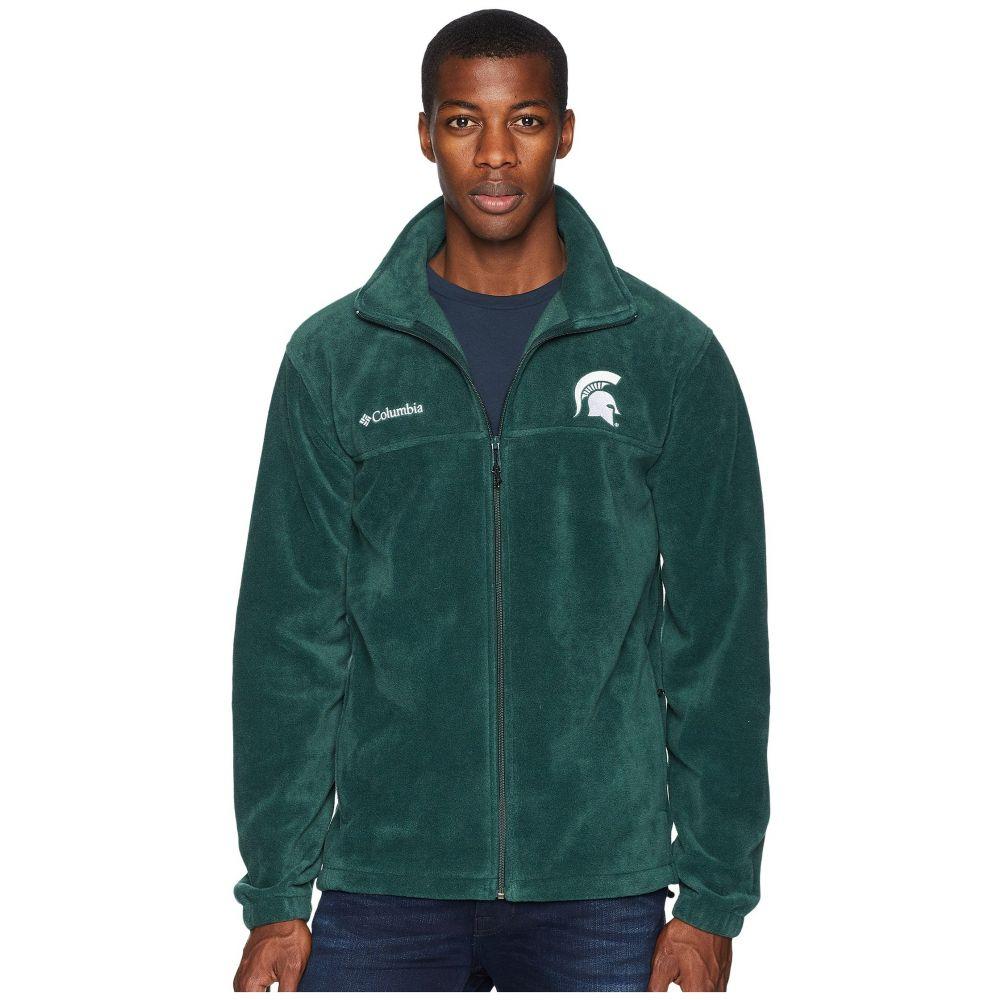 コロンビア Columbia メンズ トップス フリース【Collegiate Flanker(TM) II Full Zip Fleece】Michigan State/Spruce
