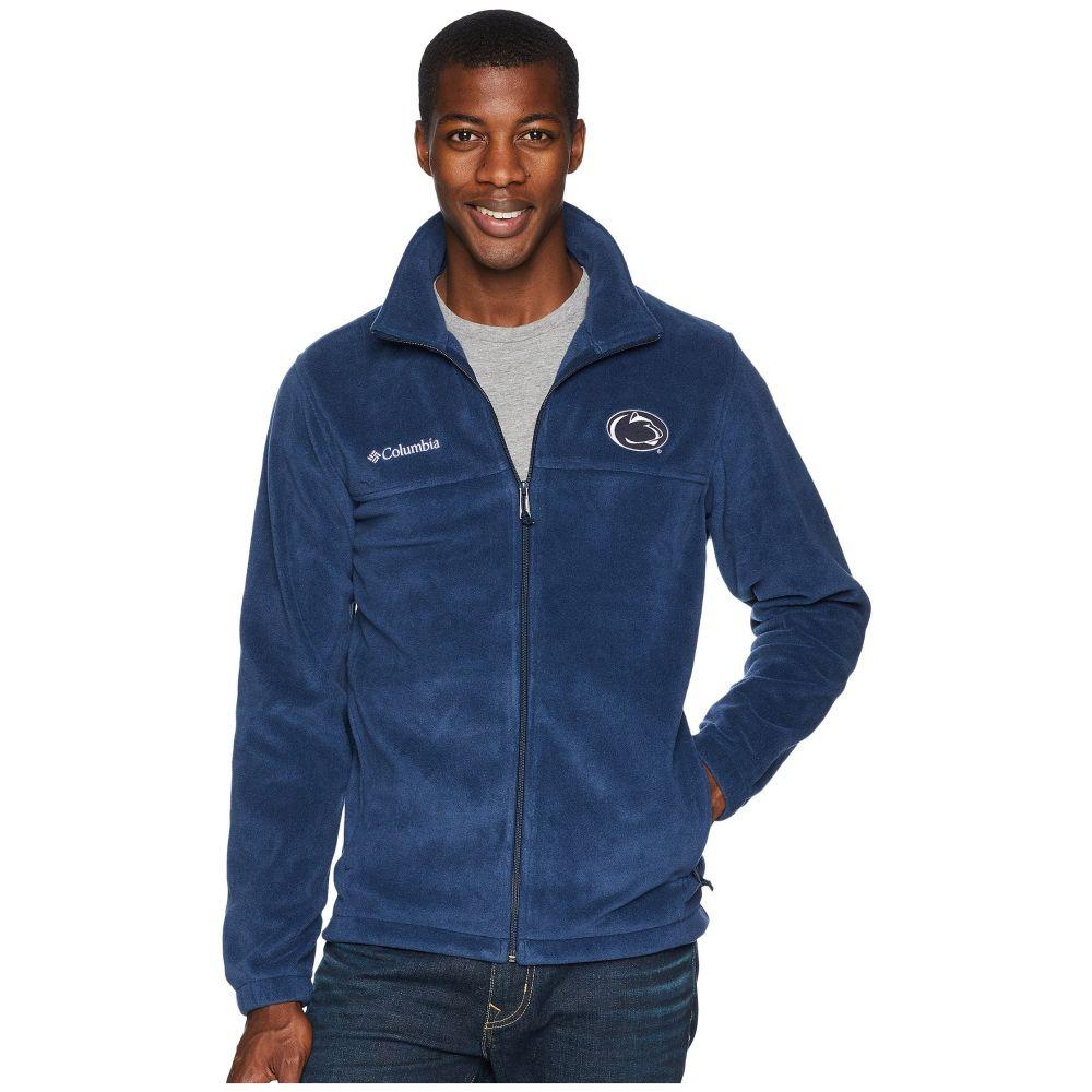 コロンビア Columbia メンズ トップス フリース【Collegiate Flanker(TM) II Full Zip Fleece】Penn State/Collegiate Navy