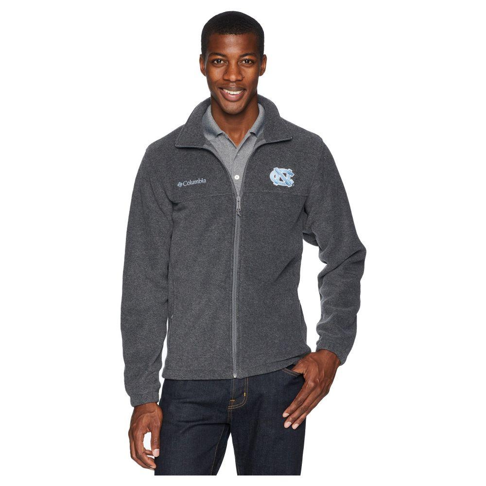 コロンビア Columbia メンズ トップス フリース【Collegiate Flanker(TM) II Full Zip Fleece】North Carolina/Charcoal Heather
