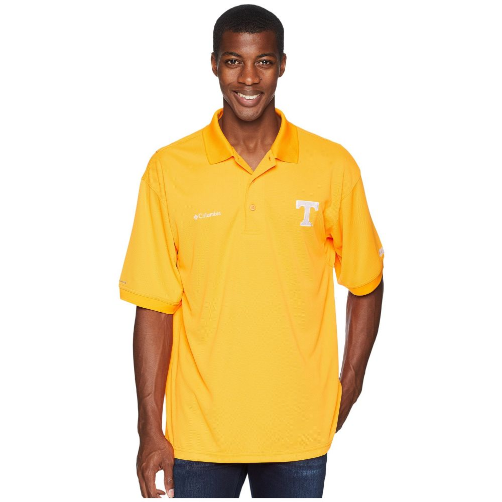 コロンビア Columbia メンズ トップス ポロシャツ【Collegiate Perfect Cast(TM) Polo Top】Tennessee/Solarize