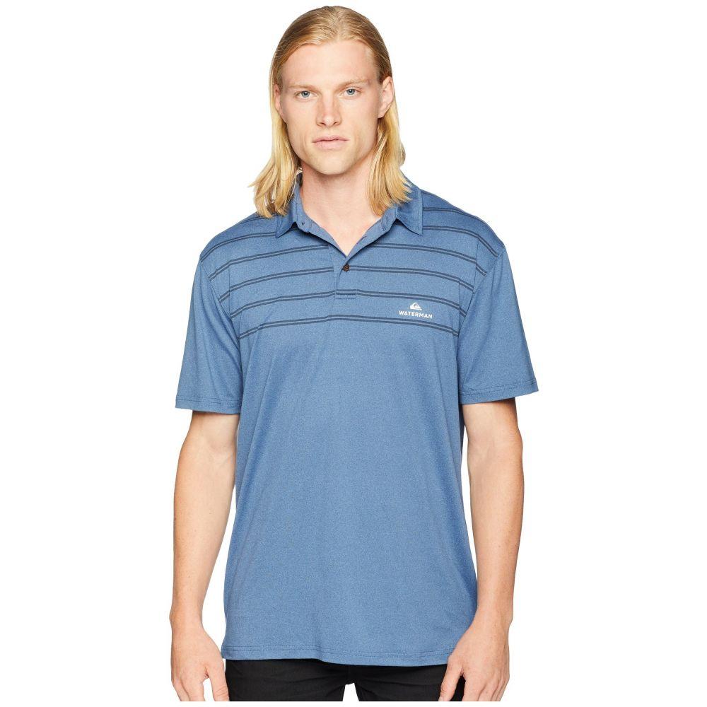 クイックシルバー Quiksilver Waterman メンズ トップス ポロシャツ【River Explorer Technical Polo】Orion Blue Heather