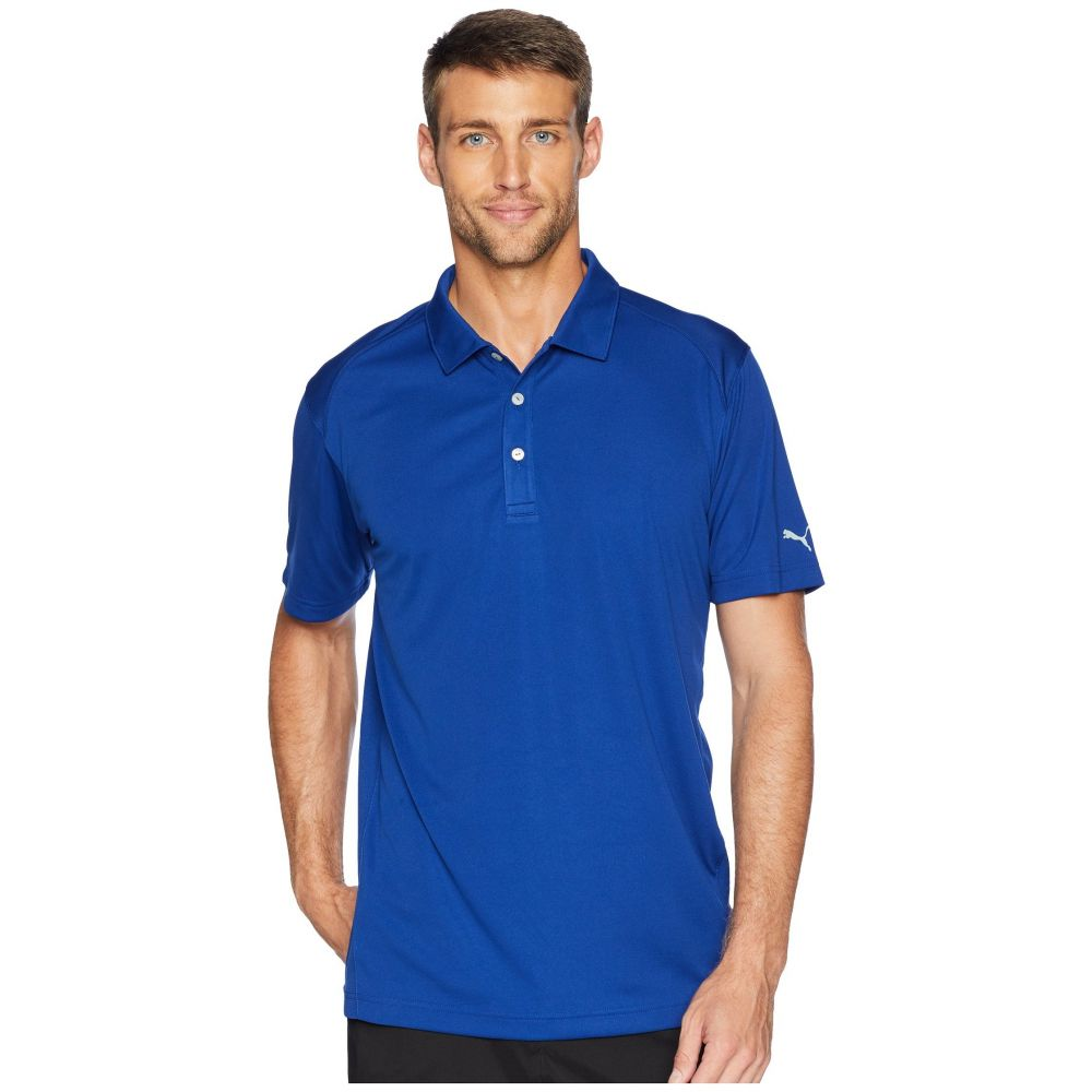 プーマ PUMA Golf メンズ ゴルフ トップス【Essential Pounce Polo】Sodalite Blue