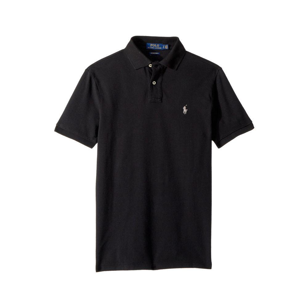 ラルフ ローレン Polo Ralph Lauren メンズ トップス ポロシャツ【Slim Fit Pique Polo】Polo Black
