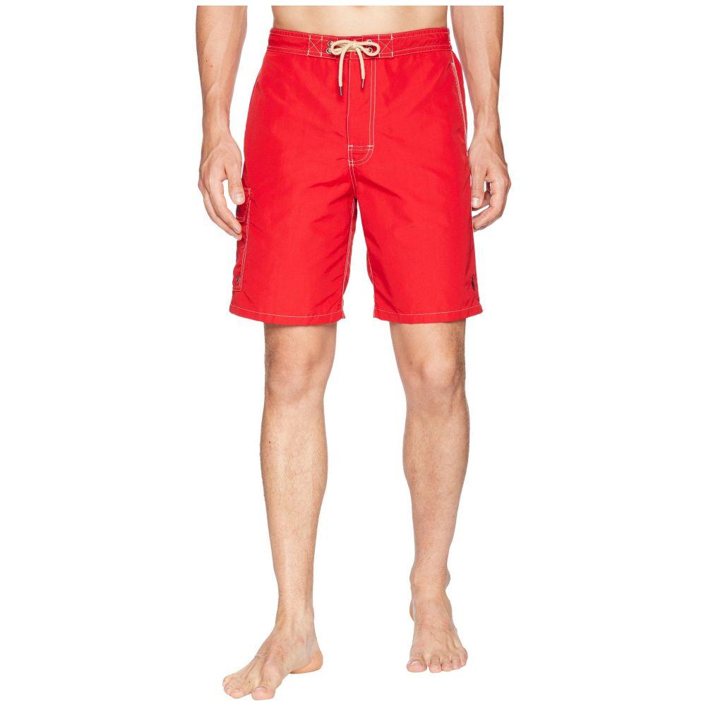 ラルフ ローレン Polo Ralph Lauren メンズ 水着・ビーチウェア 海パン【Kailua Swim Trunks】Ralph Lauren 2000 Red