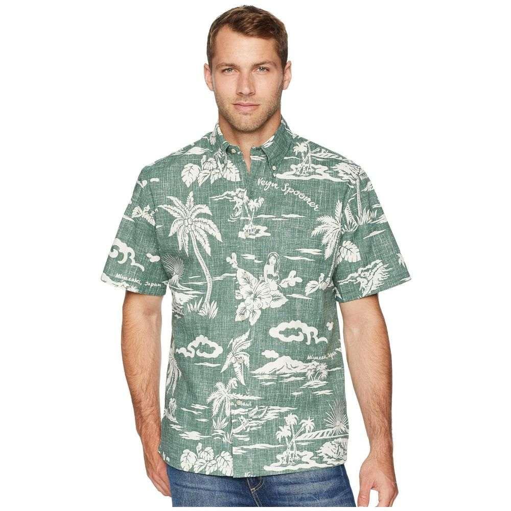 レインスプーナー Reyn Spooner メンズ トップス シャツ【My Private Isle Classic Fit Aloha Shirt】Dark Forest