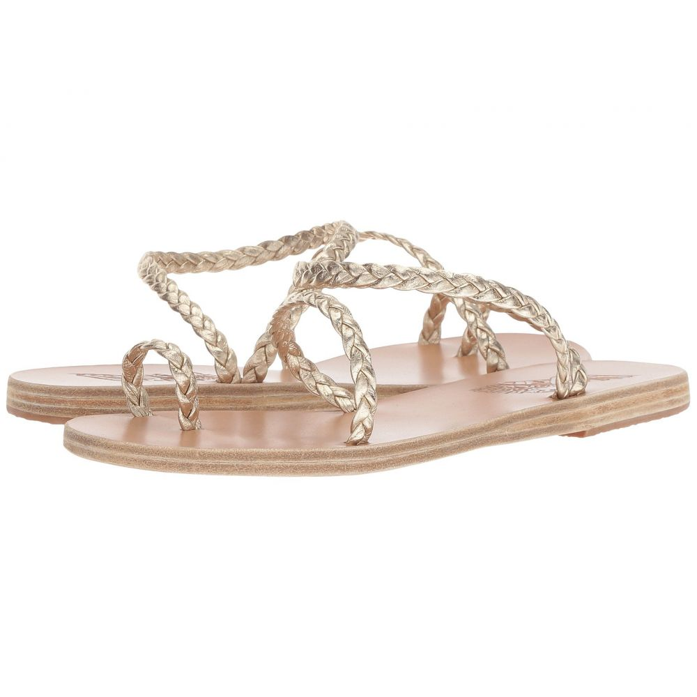 エンシェント グリーク サンダルズ Ancient Greek Sandals レディース シューズ・靴 サンダル・ミュール【Eleftheria】Platinum/Platinum Nappa