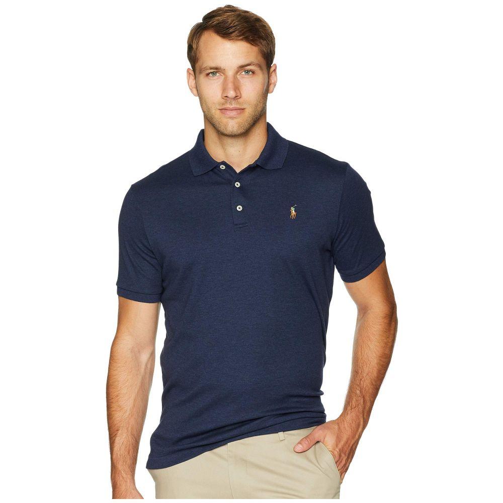 ラルフ ローレン Polo Ralph Lauren メンズ トップス ポロシャツ【Classic Fit Knit Polo】Spring Navy Heather