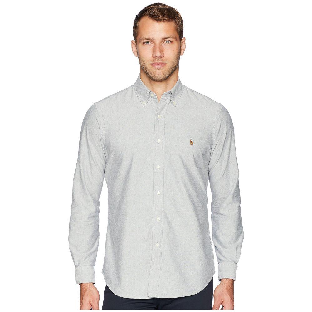 ラルフ ローレン Polo Ralph Lauren メンズ トップス シャツ【Oxford Button Down Sport Shirt】Slate/White
