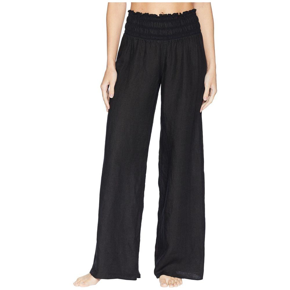 ハードテイル Hard Tail レディース ボトムス・パンツ【Smocked Waist Pants】Black