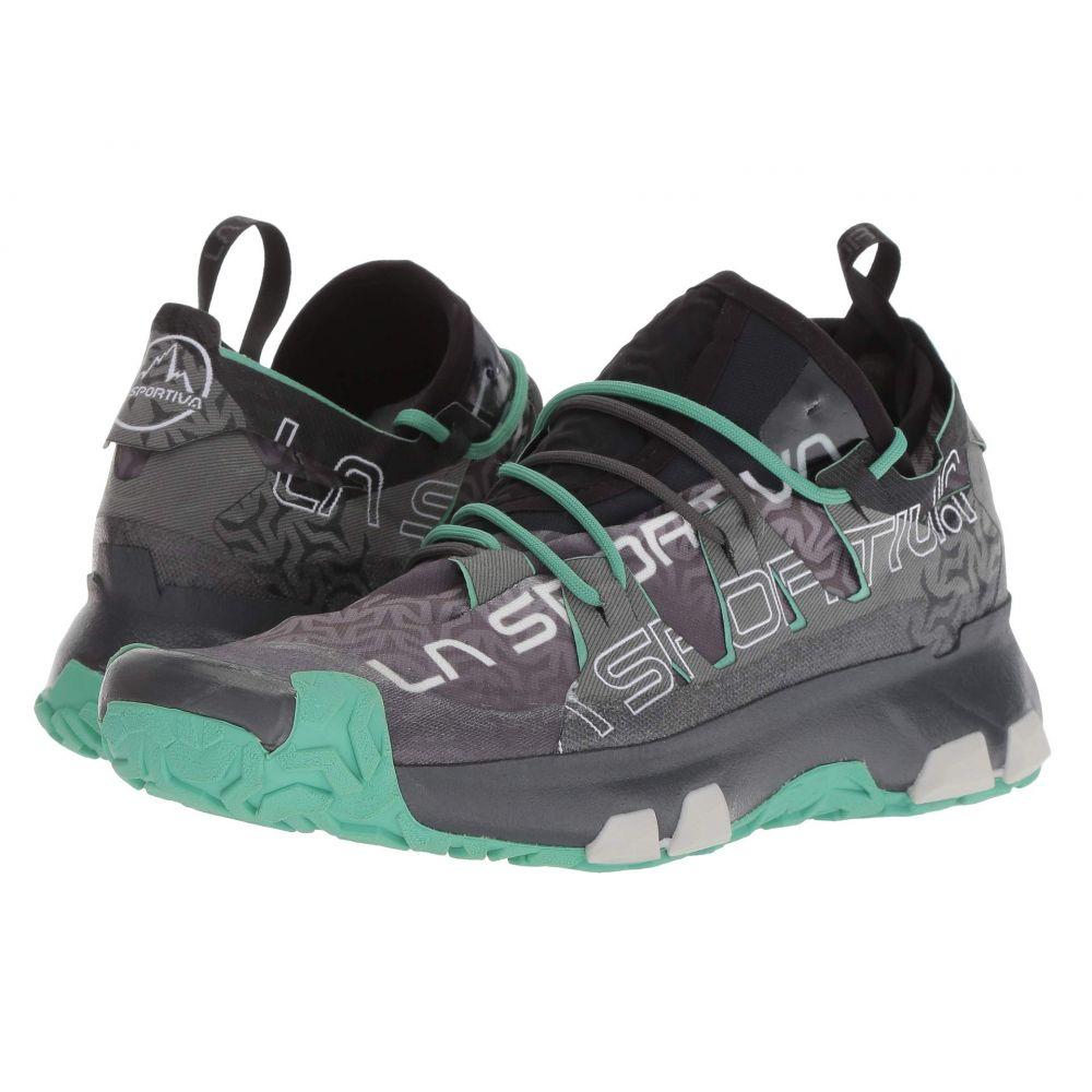 ランニング・ウォーキング ラスポルティバ シューズ・靴【Unika】Carbon/Jade レディース La Sportiva Green