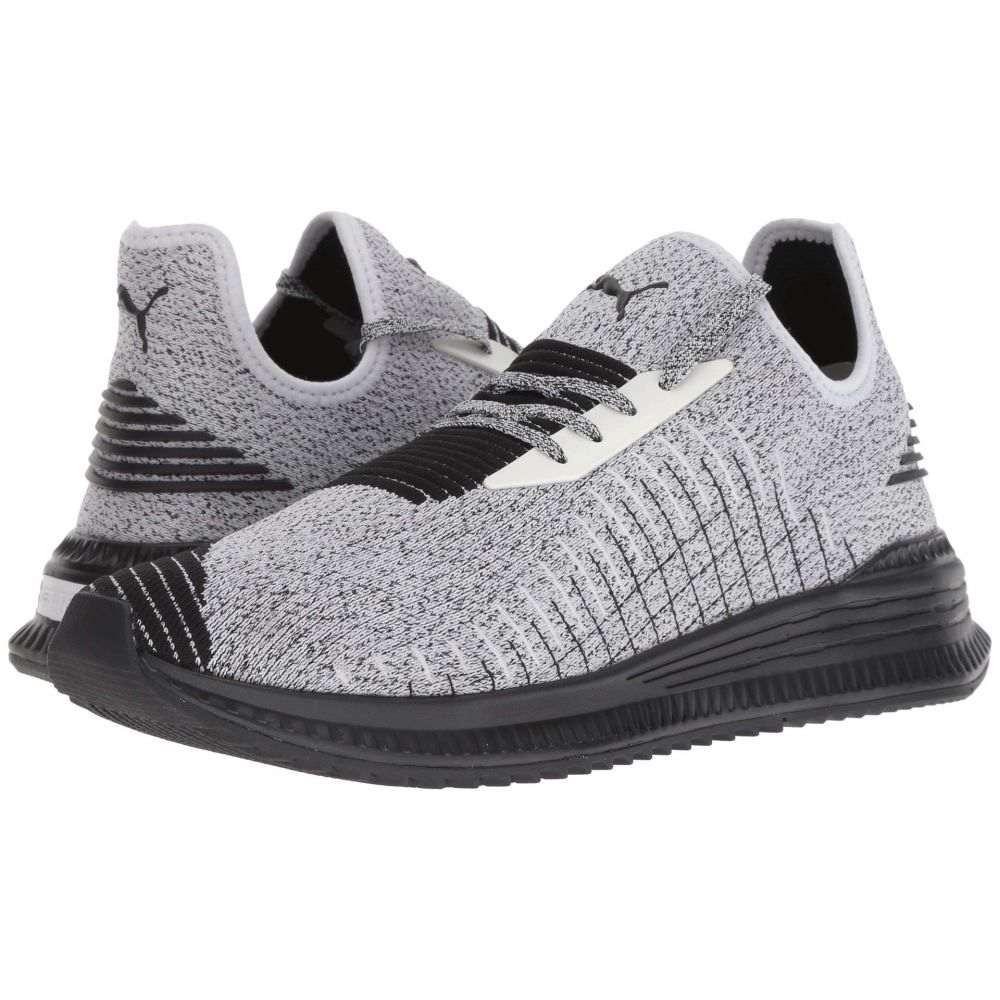 プーマ PUMA メンズ ランニング・ウォーキング シューズ・靴【Avid evoKNIT】Puma White/Puma Black