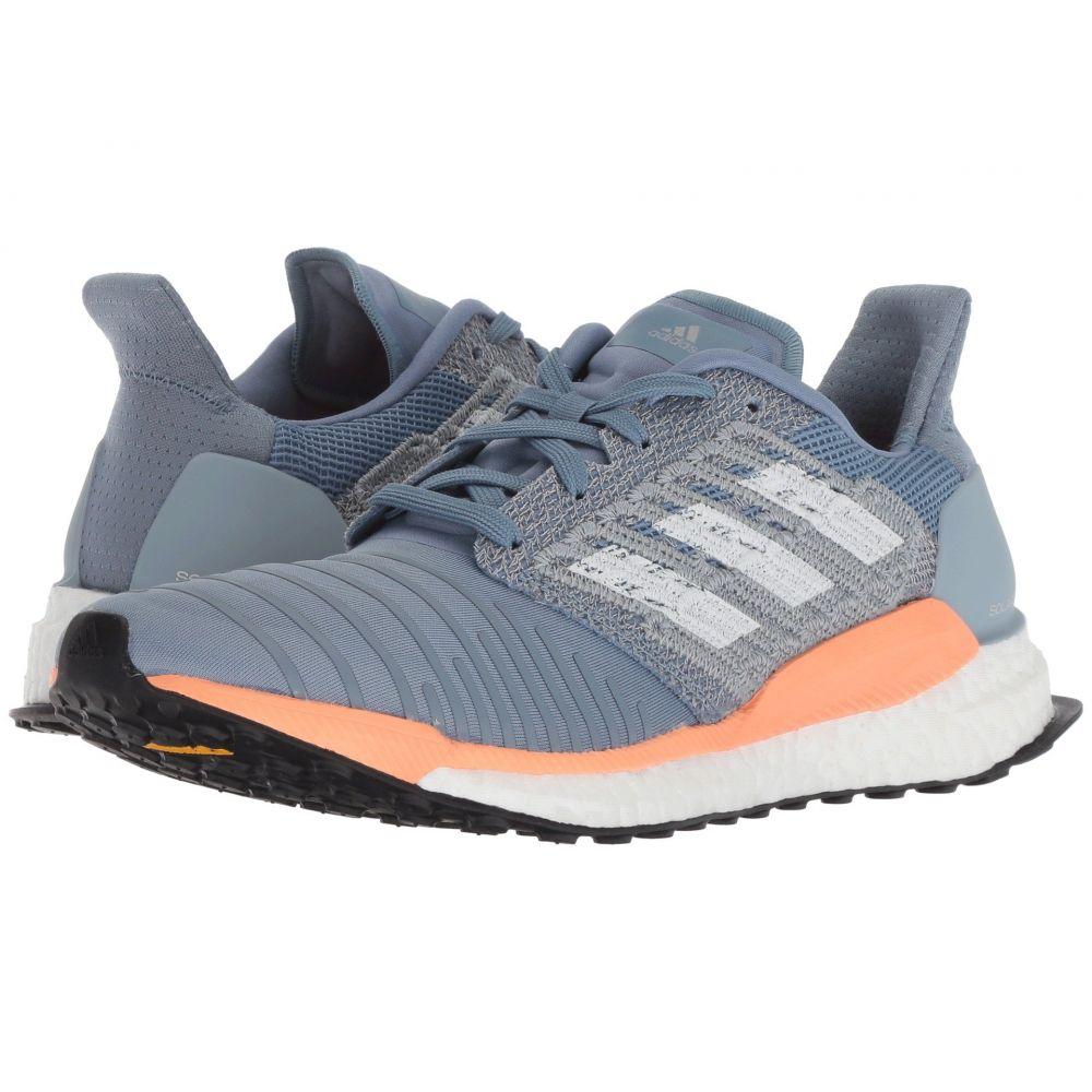 アディダス adidas Running レディース ランニング・ウォーキング シューズ・靴【Solar Boost】Raw Grey/White/Chalk Coral