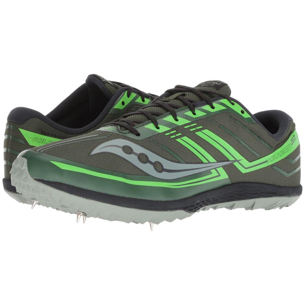 【美品】 サッカニー Saucony Saucony メンズ ランニング XC7】Green/Slime・ウォーキング シューズ・靴【Kilkenny XC7 メンズ】Green/Slime, ハンコ百貨店:06c3f4a6 --- canoncity.azurewebsites.net