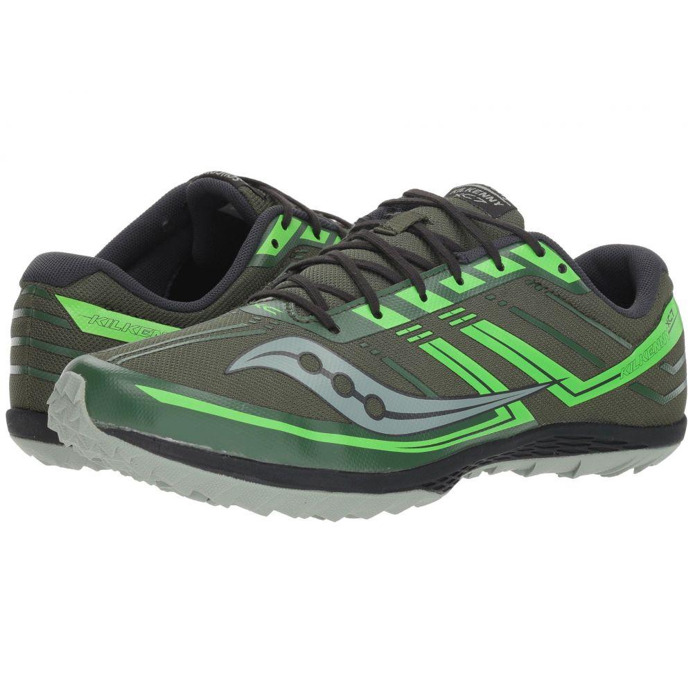 サッカニー Saucony メンズ ランニング・ウォーキング シューズ・靴【Kilkenny XC7 Flat】Green/Slime