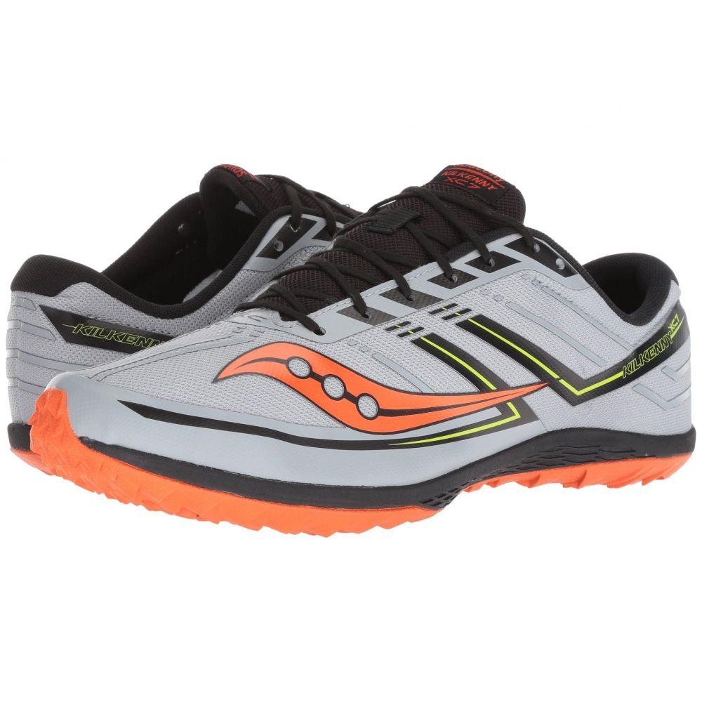 【最新入荷】 サッカニー Saucony メンズ XC7 ランニング・ウォーキング シューズ サッカニー・靴【Kilkenny メンズ XC7 Flat】Grey/Black/Orange, 山都町:62372f79 --- laraghhouse.com