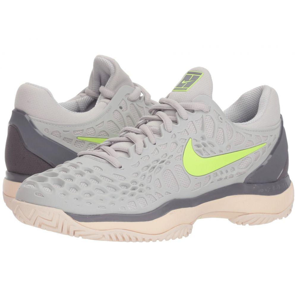 ナイキ Nike レディース テニス シューズ・靴【Zoom Cage 3 HC】Vast Grey/Volt Glow/Gunsmoke/Guava Ice