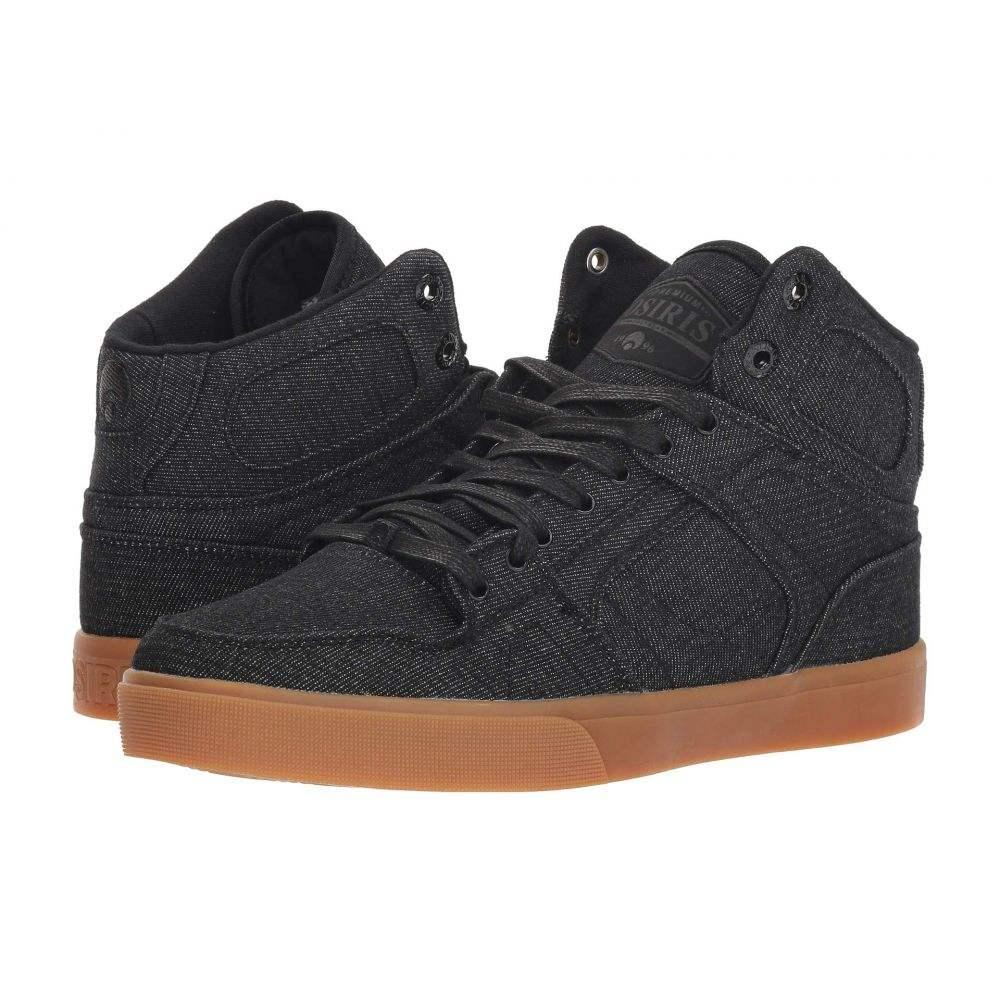 オサイラス Osiris メンズ シューズ・靴【NYC83 VLC DCN】Black/Black/Gum