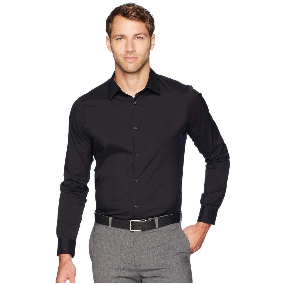 カルバンクライン Calvin Klein メンズ トップス シャツ【The Stretch-Cotton Shirt】Black