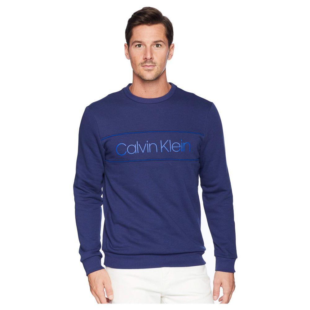 カルバンクライン Calvin Klein メンズ トップス フリース【The Soft-Touch Fleece】Navy Ink