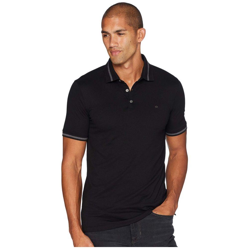 カルバンクライン Calvin Klein メンズ トップス ポロシャツ【The Liquid Touch Polo】Black Combo