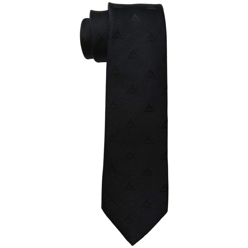 カフリンクス Cufflinks Inc. メンズ ネクタイ【Deathly Hallows Tie】Black