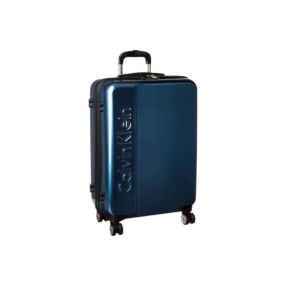 カルバンクライン Calvin Klein レディース バッグ スーツケース・キャリーバッグ【Manhattan 2.0 25' Hardside Spinner】Metallic Teal