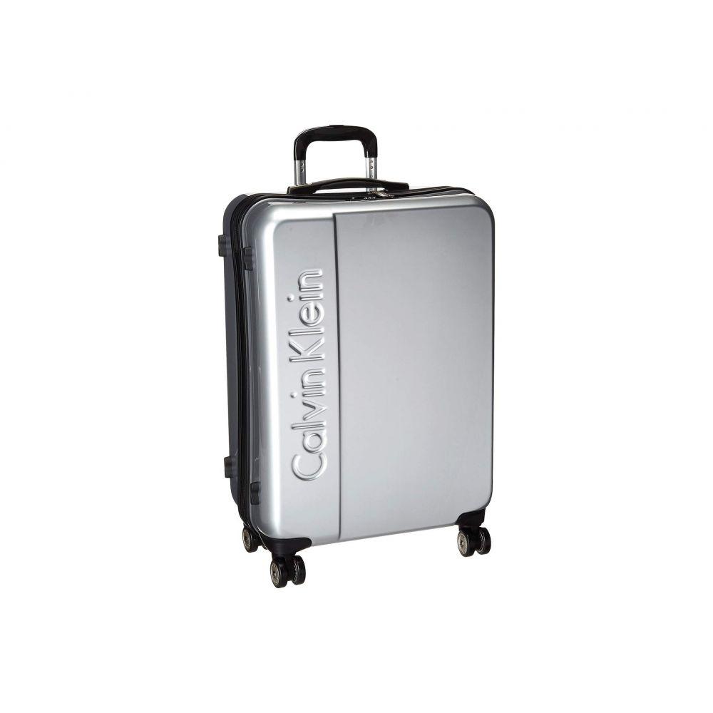 カルバンクライン Calvin Klein レディース バッグ スーツケース・キャリーバッグ【Manhattan 2.0 25' Hardside Spinner】Silver