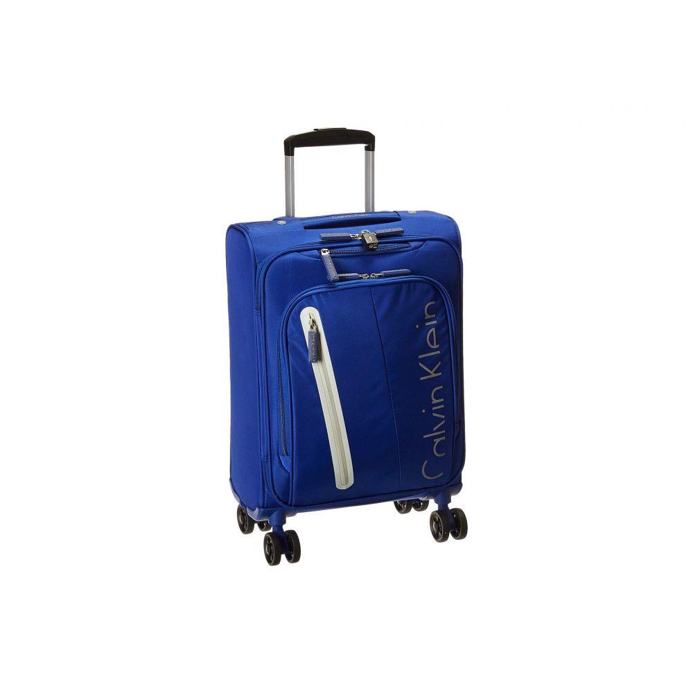 カルバンクライン Calvin Klein レディース バッグ スーツケース・キャリーバッグ【Gramercy 4.0 21' Expandable Spinner】Blue