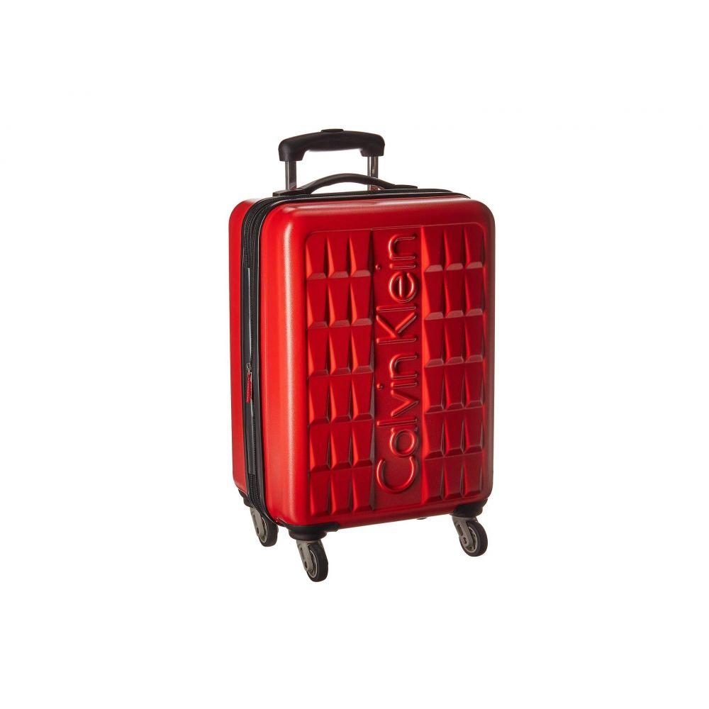 カルバンクライン Calvin Klein レディース バッグ スーツケース・キャリーバッグ【20' Cornell Hardside Spinner】Red