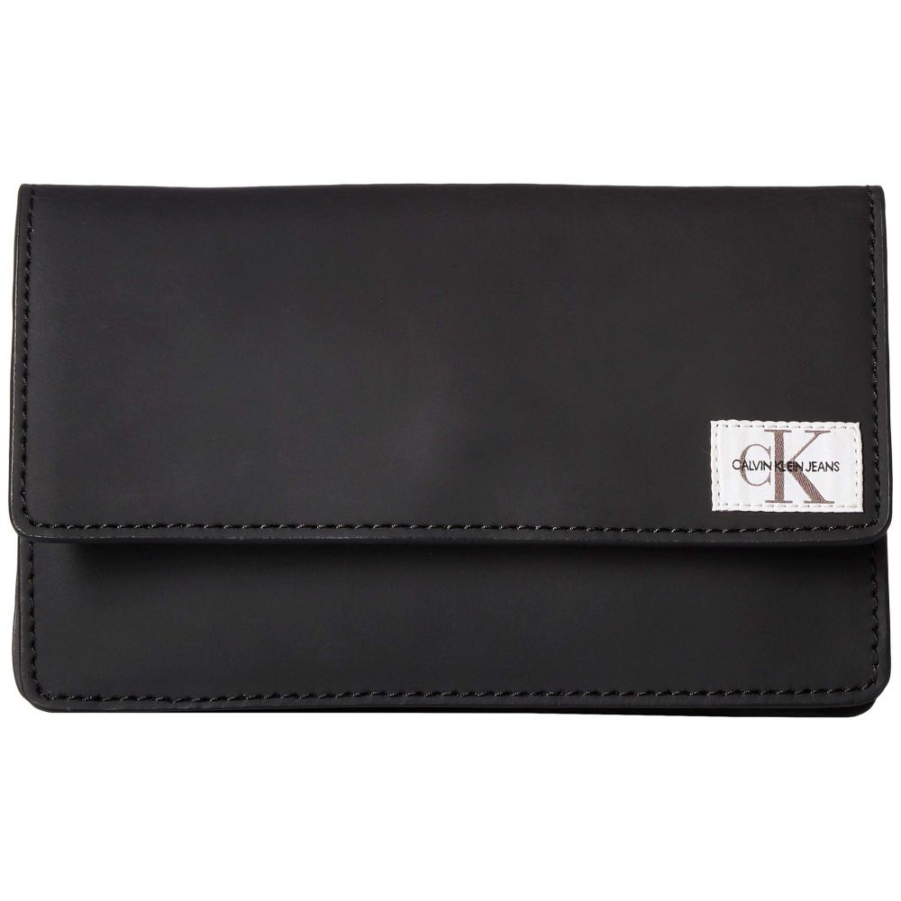 カルバンクライン Calvin Klein レディース バッグ ボディバッグ・ウエストポーチ【Rubberized Leather Belt Bag】Black/Black/Polished Nickel