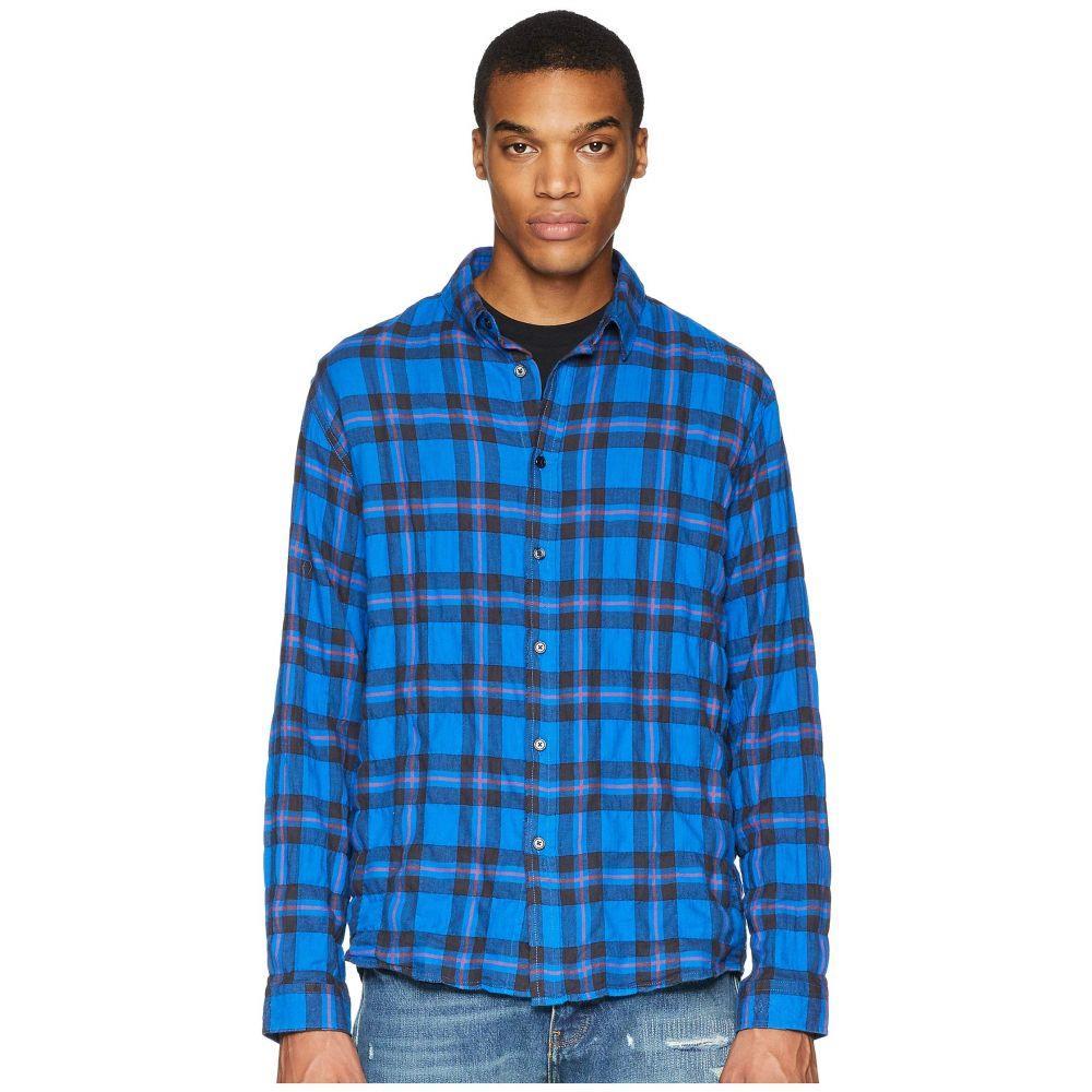 クーパース The Kooples メンズ トップス シャツ【Buttoned Denim Shirt】Blue