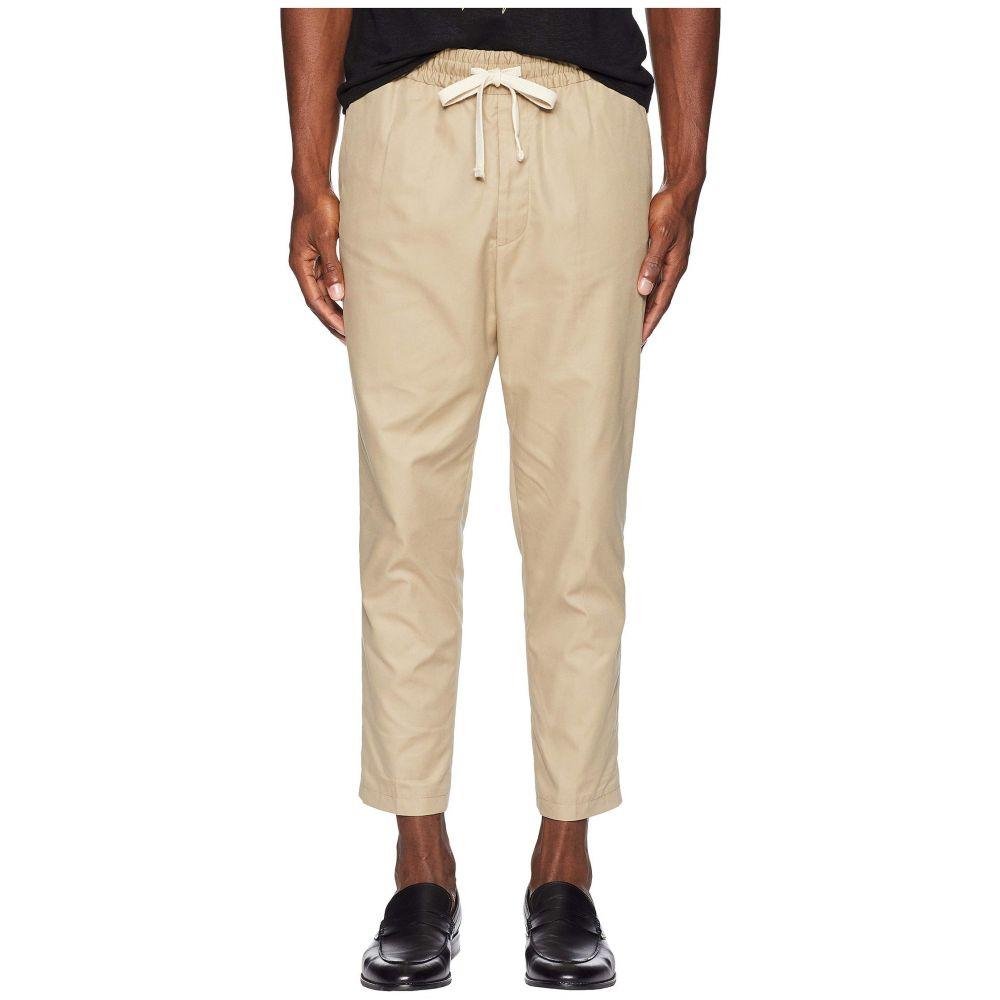クーパース The Kooples メンズ ボトムス・パンツ【Trousers with An Elasticated Waistband】Beige