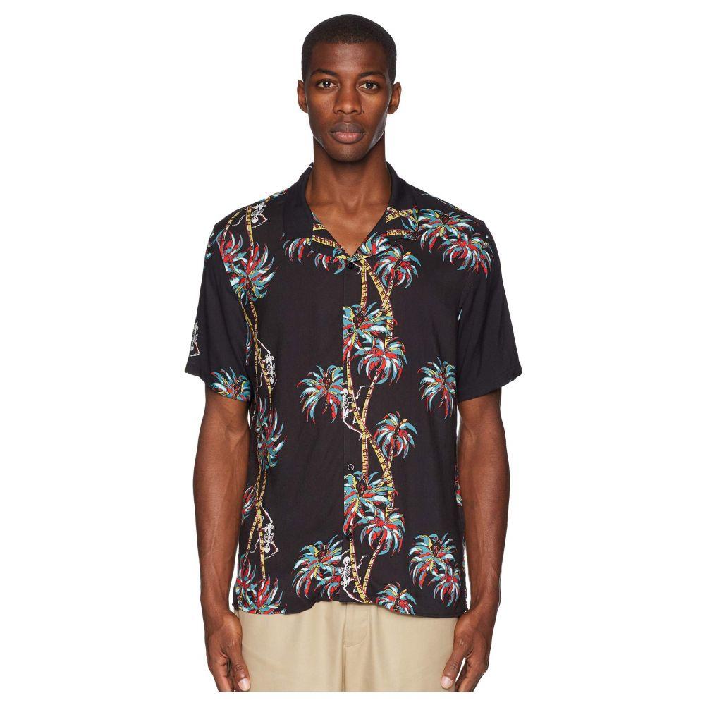 クーパース The Kooples メンズ トップス シャツ【Hawaiian Palm Shirt】Black