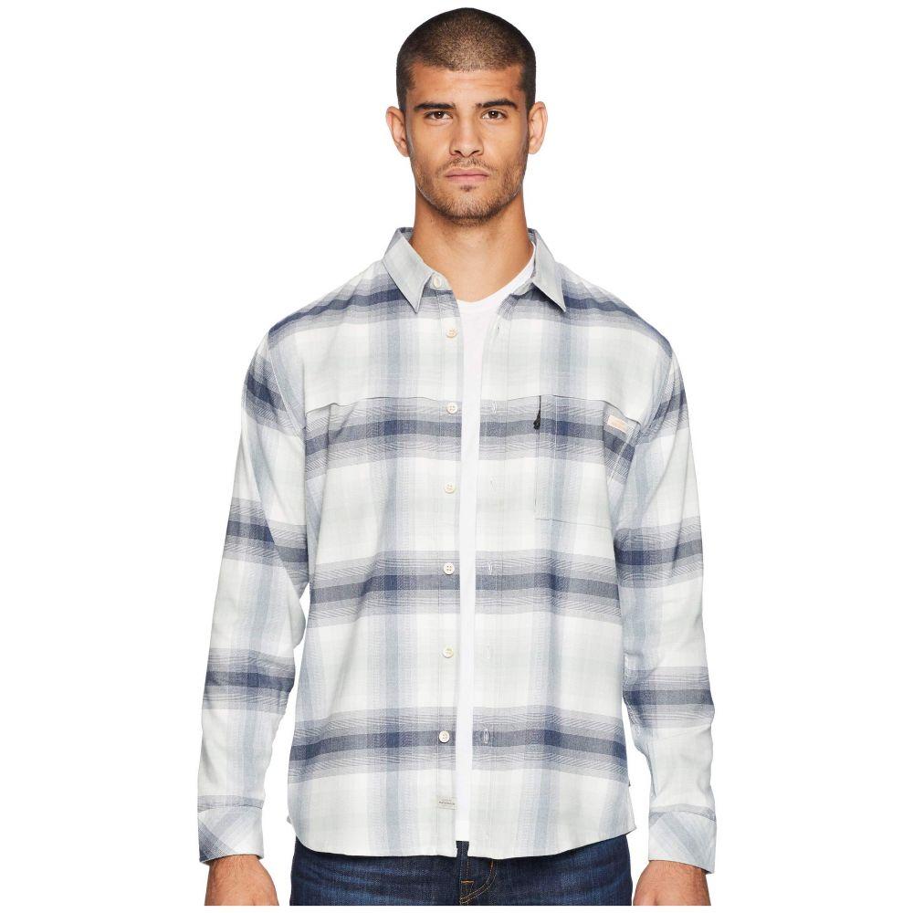 クイックシルバー Quiksilver Waterman メンズ トップス シャツ【Thermo Hyper Flannel Long Sleeve Shirt】Snow White
