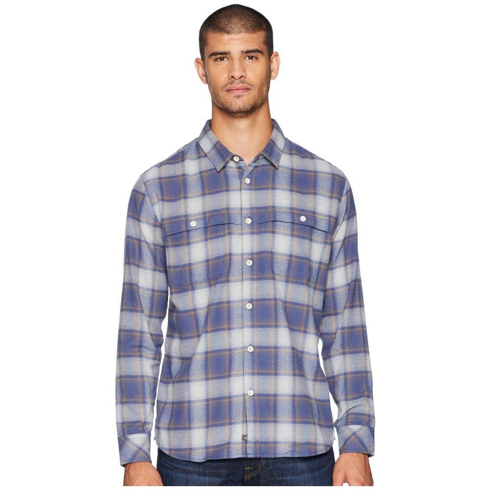 クイックシルバー Quiksilver Waterman メンズ トップス シャツ【Cente Marche Long Sleeve Flannel Shirt】Drizzle