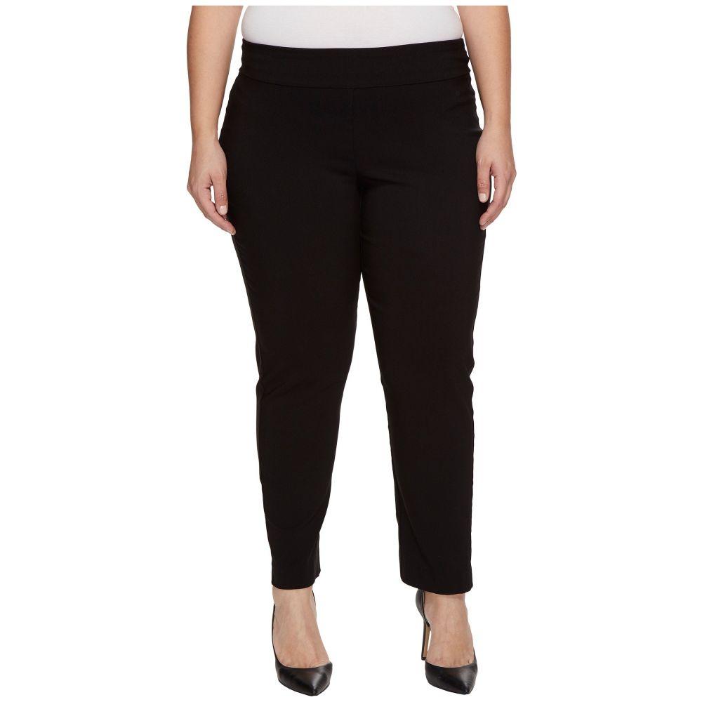 クレイジーラリー Krazy Larry レディース ボトムス・パンツ クロップド【Plus Size Pull-On Ankle Pants】Black