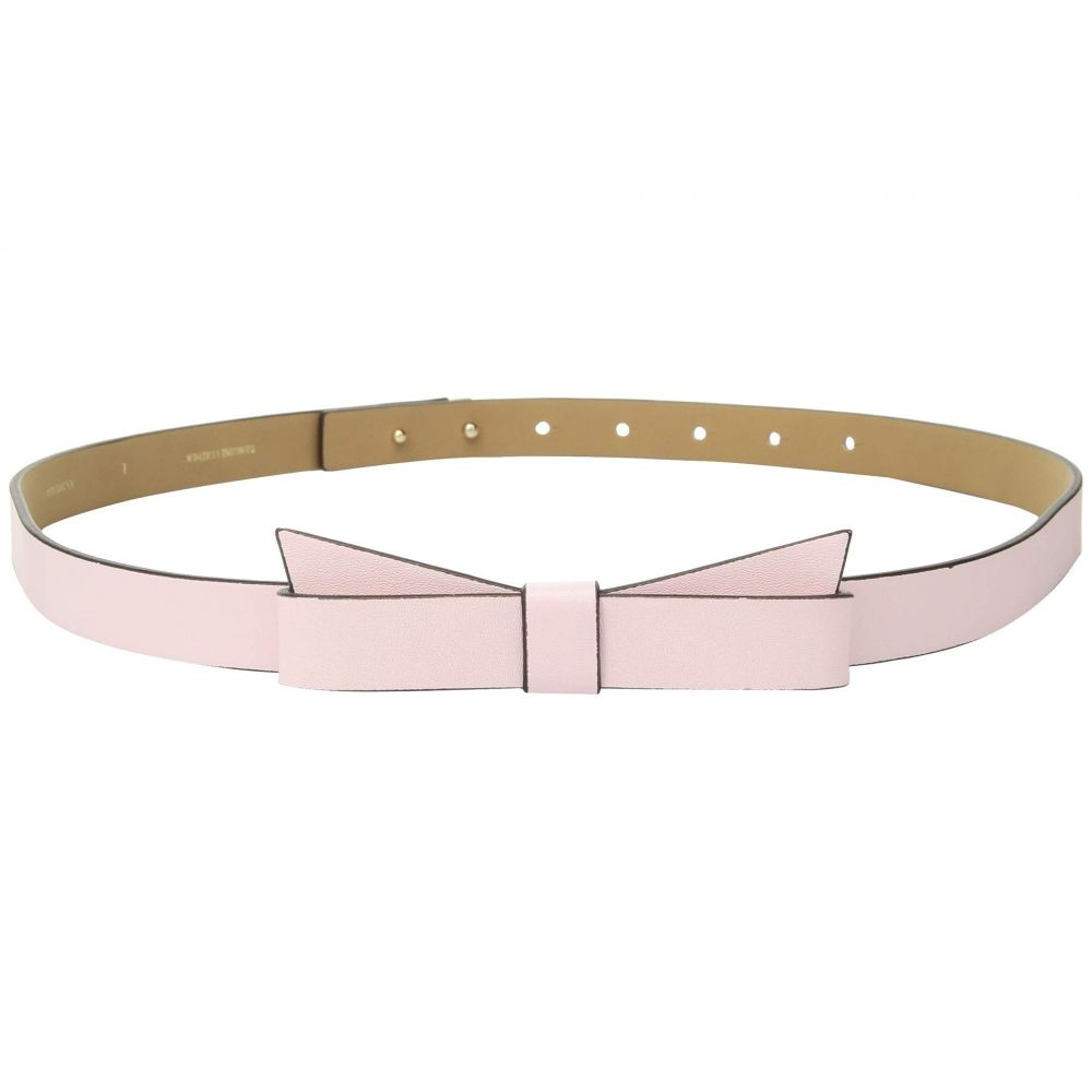 ケイト スペード Kate Spade New York レディース ベルト【3/4' Pebble Leather Bow Belt】Pastry Pink