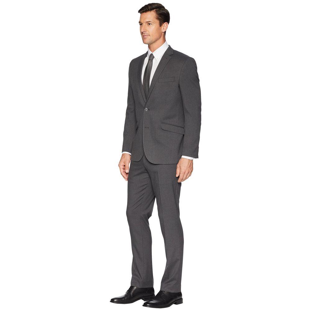 ケネス コール Kenneth Cole Reaction メンズ アウター スーツ・ジャケット Slim Fit Stretch Performance 32' Finished Bottom Suit Grey8nZNPX0wOk