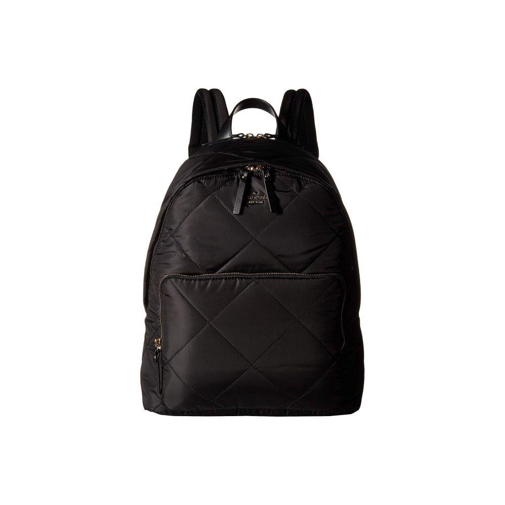 ケイト スペード Kate Spade New York レディース バッグ バックパック・リュック【15 in. Quilted Nylon Tech Backpack】Black
