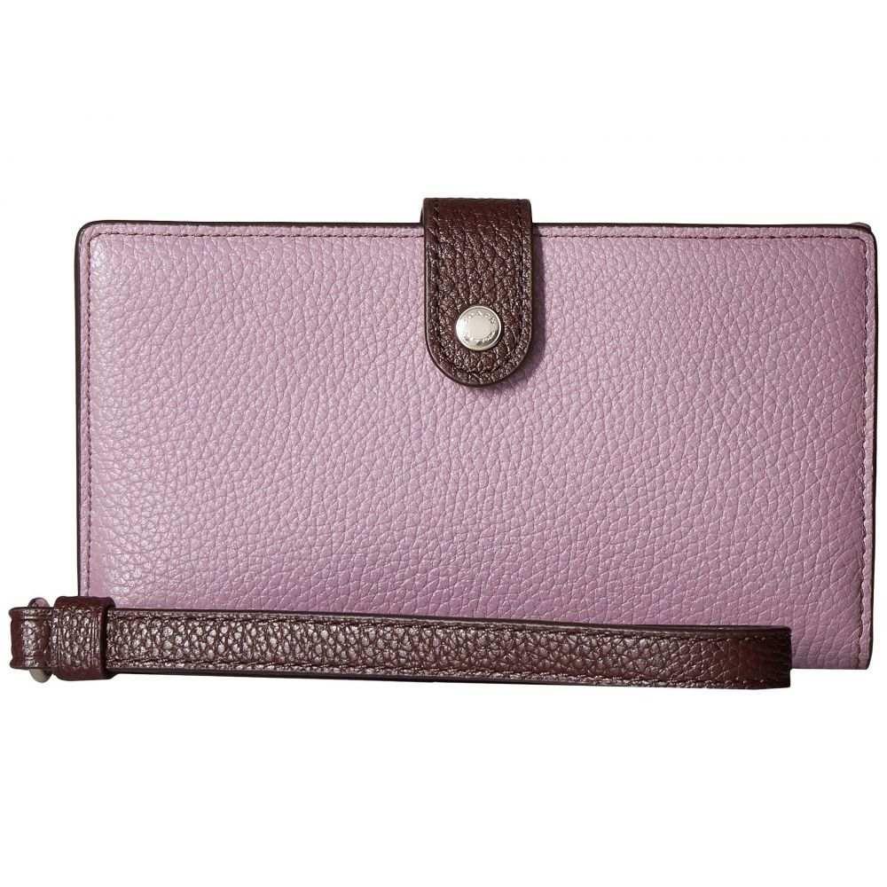 コーチ COACH レディース スマホケース【Phone Wristlet in Color Block Leather】SV/Jasmine Multi