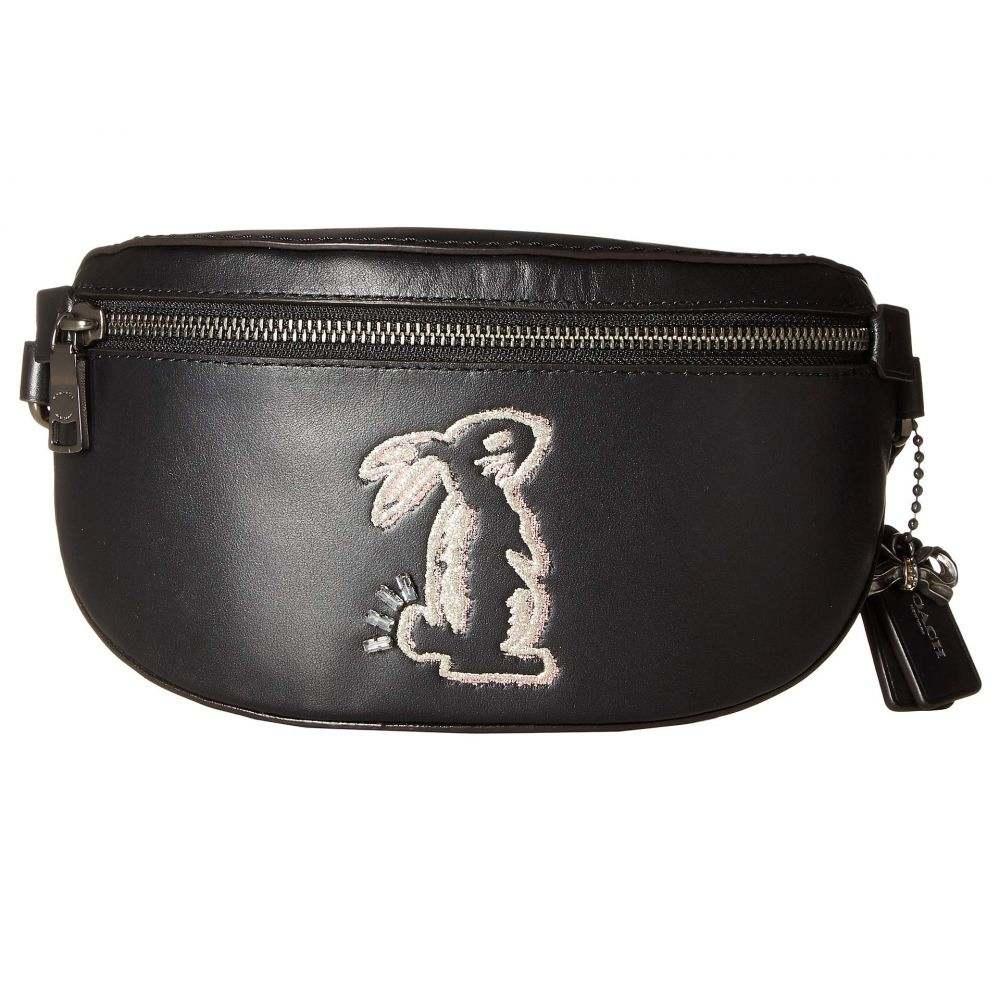 コーチ COACH レディース バッグ ボディバッグ・ウエストポーチ【Selena Bunny Belt Bag】Gm/Black