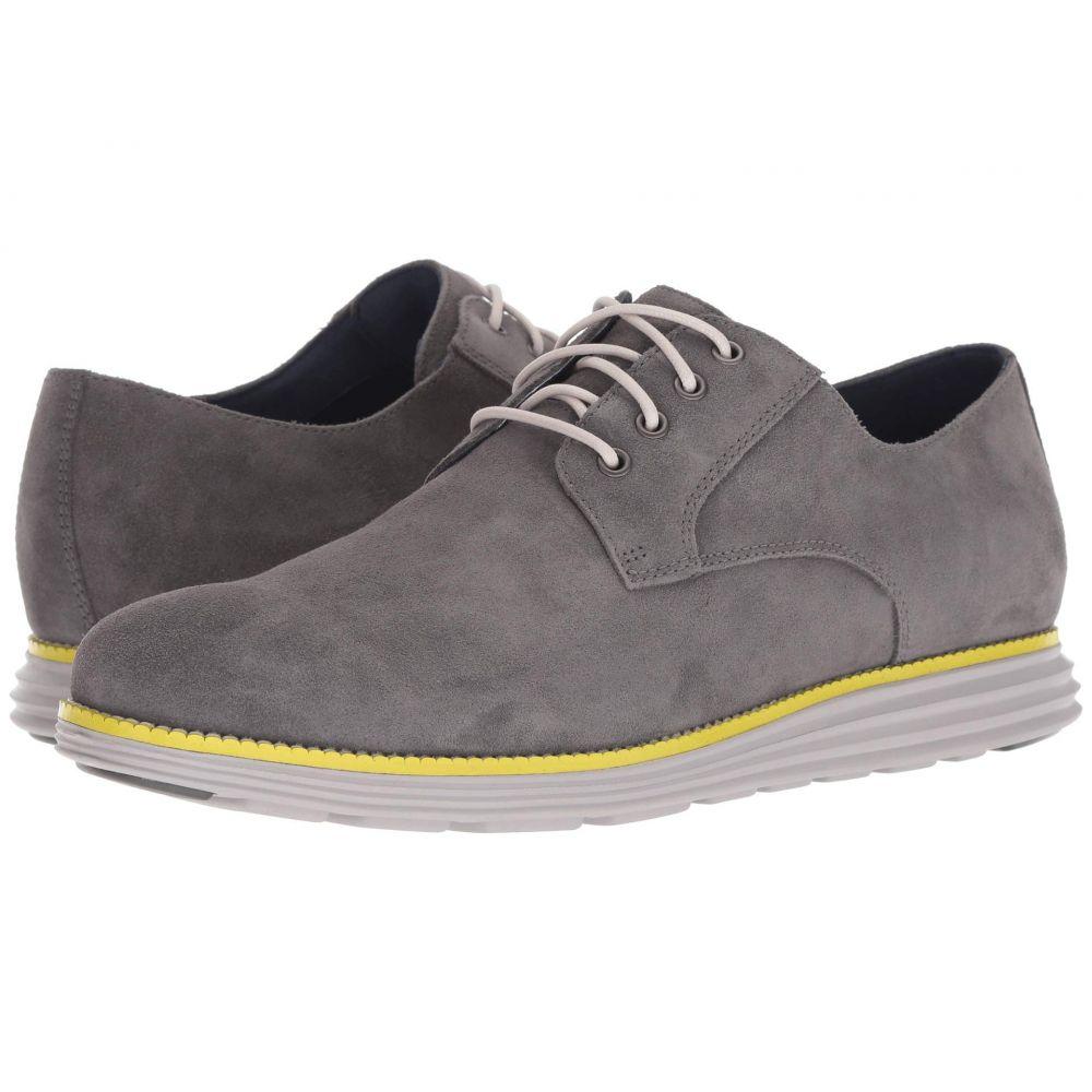 コールハーン Cole Haan メンズ シューズ・靴 革靴・ビジネスシューズ【Original Grand Plain Toe】Magnet Suede/Vapor Grey/Sulphur Spring